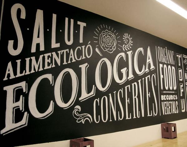 Typographie  Devanture de magasin Rétro (6)