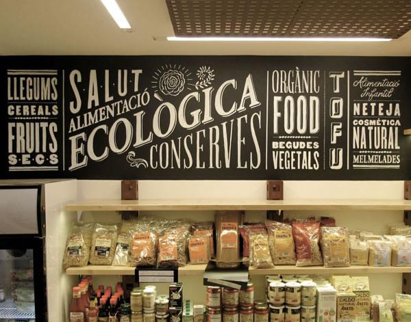 Typographie  Devanture de magasin Rétro (7)