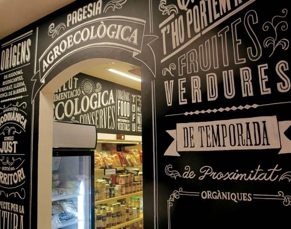 Typographie  Devanture de magasin Rétro (8)