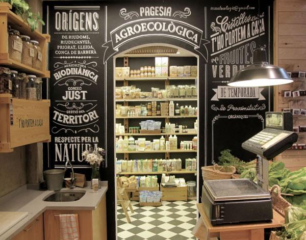 Typographie  Devanture de magasin Rétro (9)