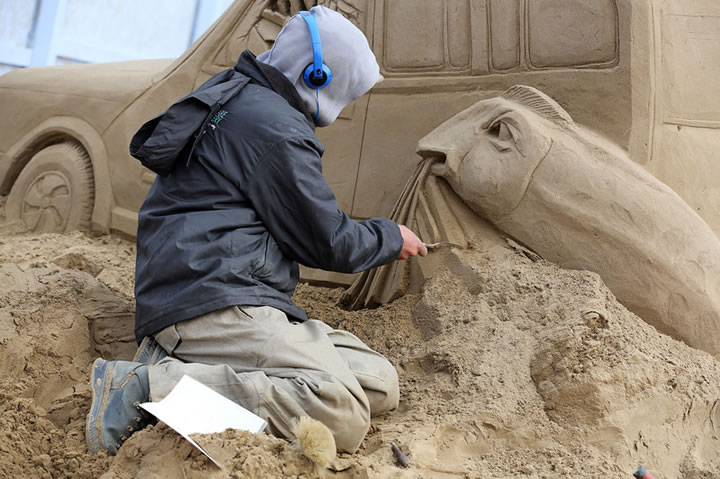 Weston Sand Sculpture Festival 2013 (1)
