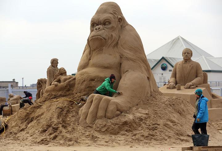 Weston Sand Sculpture Festival 2013 (10)