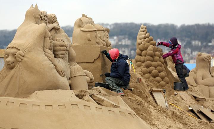 Weston Sand Sculpture Festival 2013 (12)