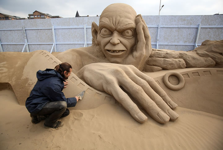 Weston Sand Sculpture Festival 2013 (17)