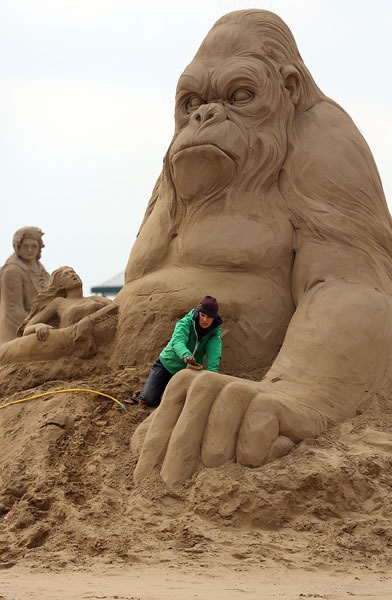 Weston Sand Sculpture Festival 2013 (18)
