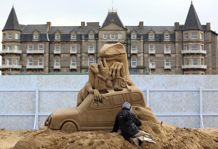 Weston Sand Sculpture Festival 2013 (19)