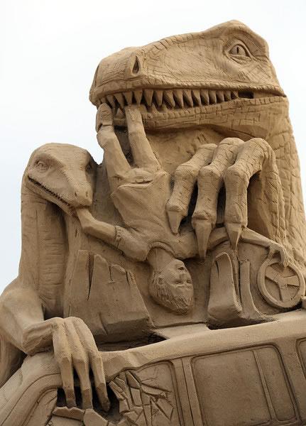 Weston Sand Sculpture Festival 2013 (2)