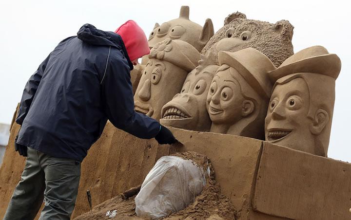 Weston Sand Sculpture Festival 2013 (20)