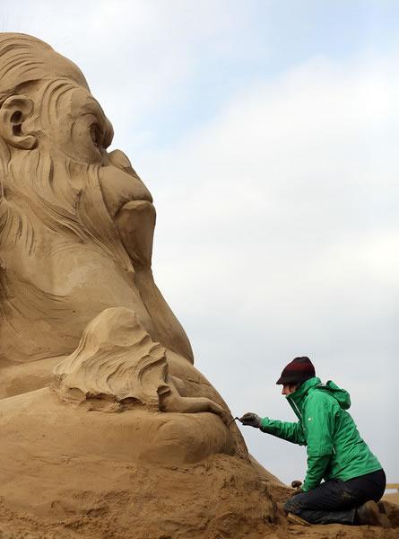 Weston Sand Sculpture Festival 2013 (21)