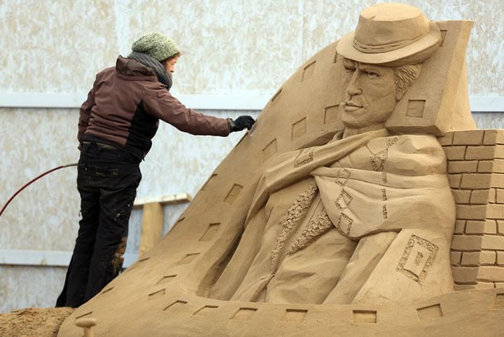Weston Sand Sculpture Festival 2013 (4)