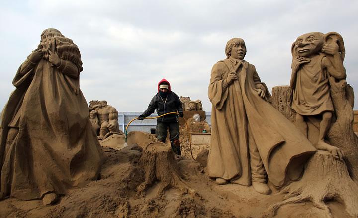 Weston Sand Sculpture Festival 2013 (5)
