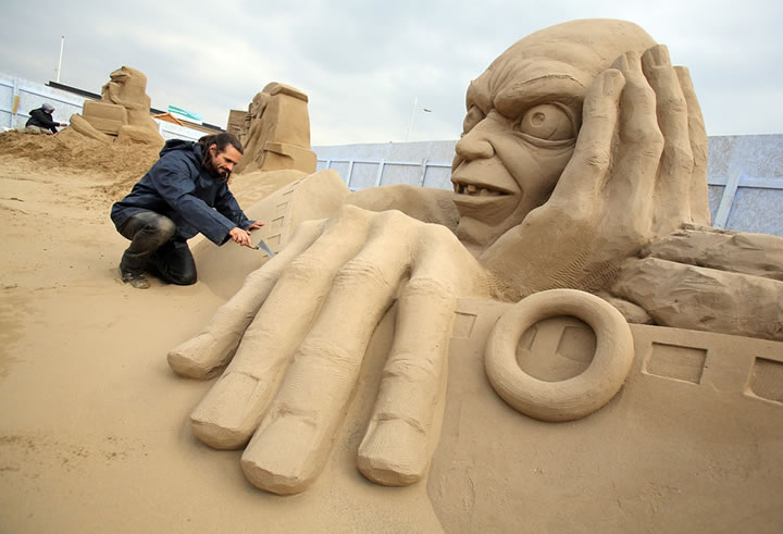 Weston Sand Sculpture Festival 2013 (6)