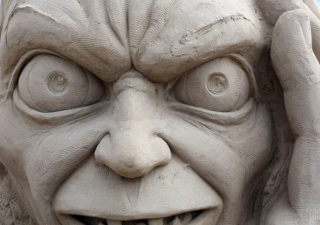 Sculptures sable : Hollywood Weston Sand Sculpture Festival 2013 1