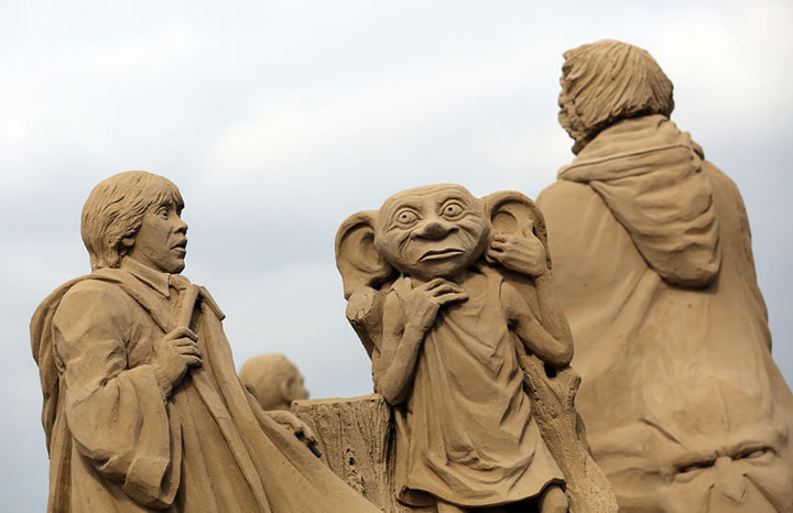 Weston Sand Sculpture Festival 2013 (9)