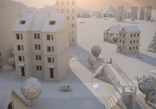 Origami 3D : Paper City 1