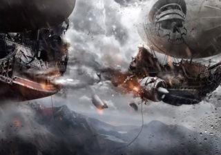 Timelapse Photoshop : Airship of Doom par Alexander Koshelkov