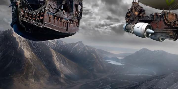 Airship Of Doom photoshop