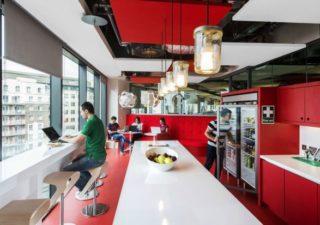 Les locaux de l'université de Google à Dublin