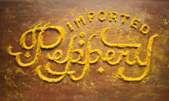 Typographie en Nourriture (5)