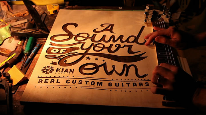 Un poster Guitare : Kian - #Olybop