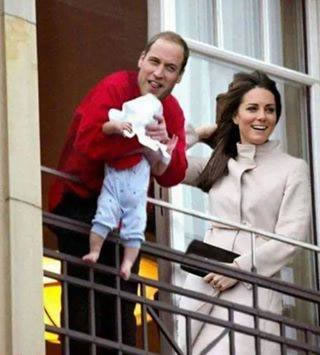 parodies du Royal baby de Kate Middleton (2)