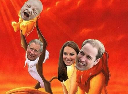 parodies du Royal baby de Kate Middleton (3)