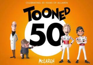 Tooned 50 : L'histoire de McLaren en 50 courts métrages
