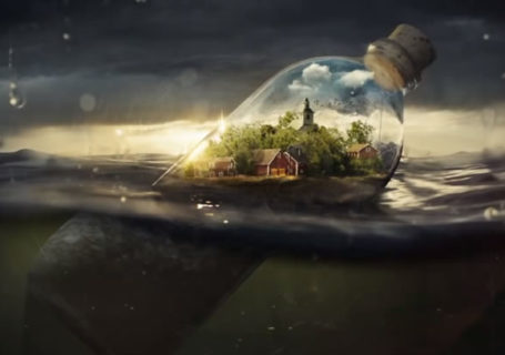 Timelapse Photoshop : Drifting Away 3