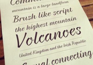 Typographie gratuite : Braxon 1