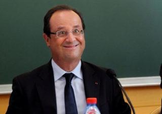 Les parodies de la photo interdite par l'AFP de Hollande à la rentrée 1