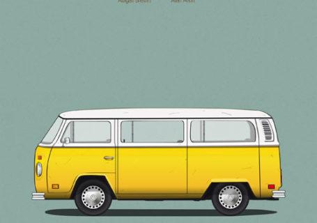 Posters : Les voitures des films célèbres 12