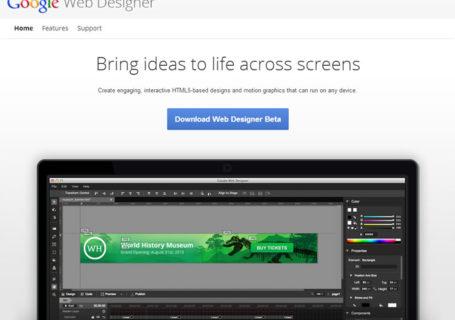 Google WebDesigner 4