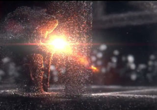 Animation 3D Particules : Arcelor Mittal 1