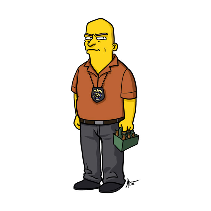 simpsons-Hank-Schrader