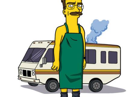Illustration Breaking Bad style Simpsons 4