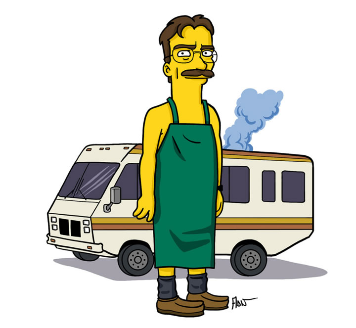 simpsons-Walter-White