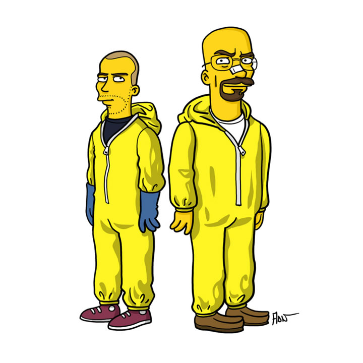simpsons-Walter-and-Jesse
