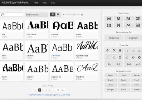 Typographie : Adobe Edge Web Fonts, un concurrent à Google Fonts 3