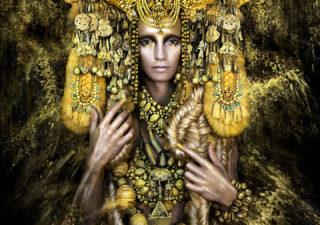Photos surréalistes : Wonderland - Gaia, The Birth Of An End par Kirsty Mitchell