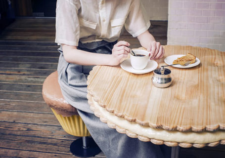 Du mobilier en forme de gâteau et cupcake  7