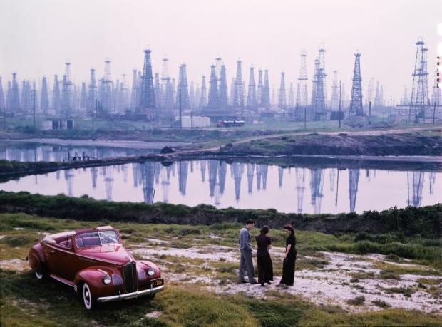04 Plateformes-pétrolières à Signal Hill - Californie, États-Unis, 1941