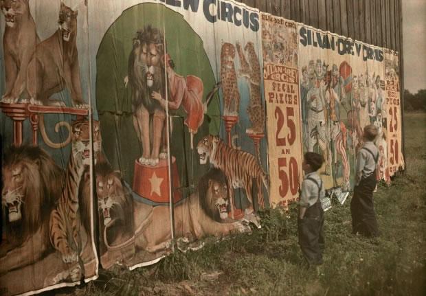 05 Des affiches de cirques - 1931