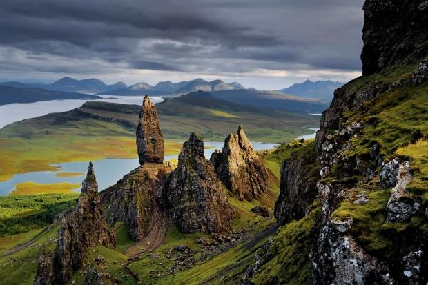 07 La péninsule de Trotternish, sur l'île de Skye (Écosse, 2008)