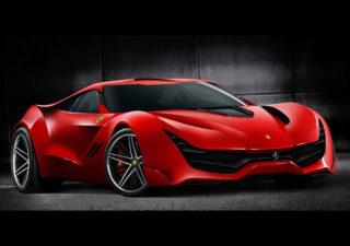 Concept Design de la Ferrari CascoRosso