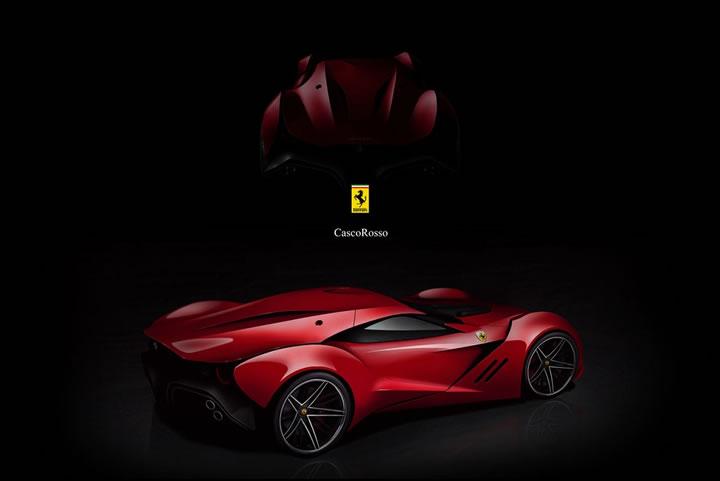 Concept Ferrari CascoRosso (4)