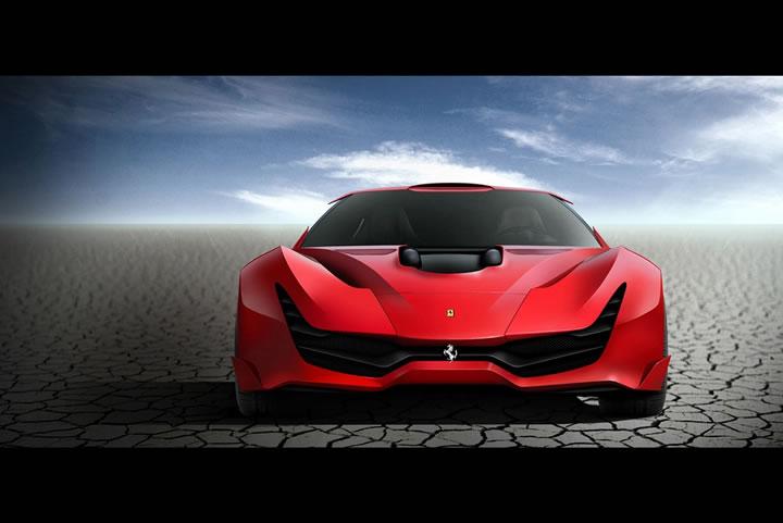 Concept Ferrari CascoRosso (5)