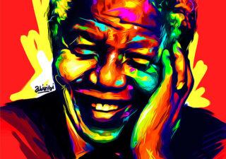 20 meilleurs FanArt de Nelson Mandela