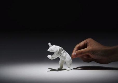 Stop-motion : Des animaux en mouchoirs 9