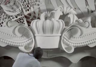 Création incroyable d'une grande structure de Papier : Cut to Build