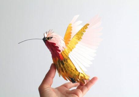 Origami : Oiseaux de papier de Diana Herrera Beltran 6